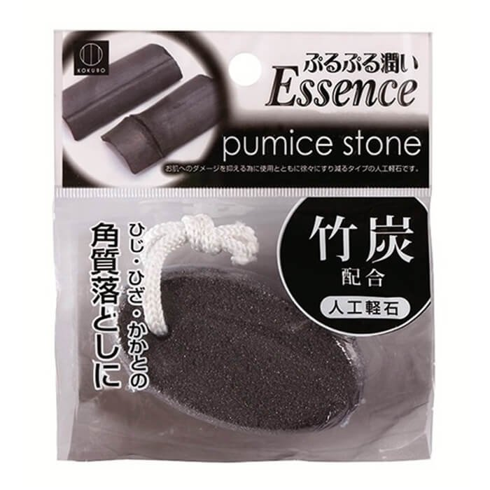 Пемза для пяток Kokubo Pumice Stone - Charcoal