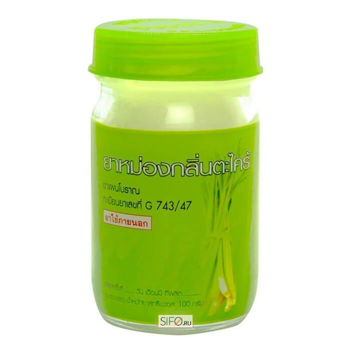Бальзам для тела Kongka Balm Lemongrass (120 г)