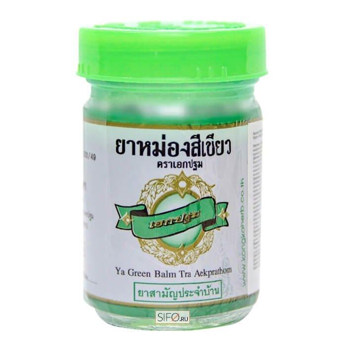 Бальзам для тела Kongka Ya Green Balm Tra Aekprathom (100 г)