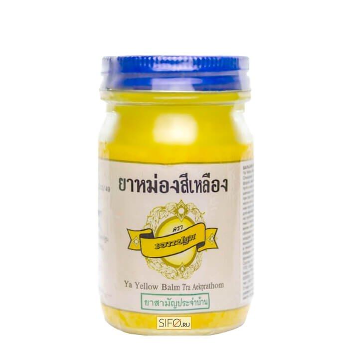 Бальзам для тела Kongka Ya Yellow Balm Tra Aekprathom