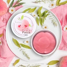 Гидрогелевые патчи L'arvore Hydrogel Eye & Cheek Petit Peach Patch