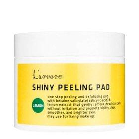 Пилинг спонжи L'arvore Lemon Shiny Peeling Pad