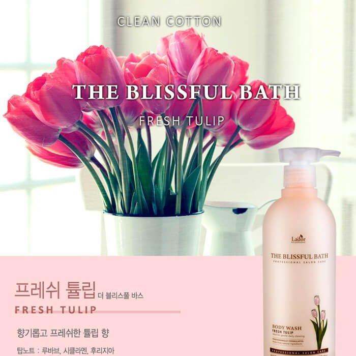 Гель для душа La'dor The Blissful Bath - Tulip