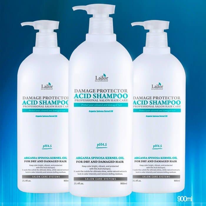 Шампунь для волос La'dor Damaged Protector Acid Shampoo (1500 мл)