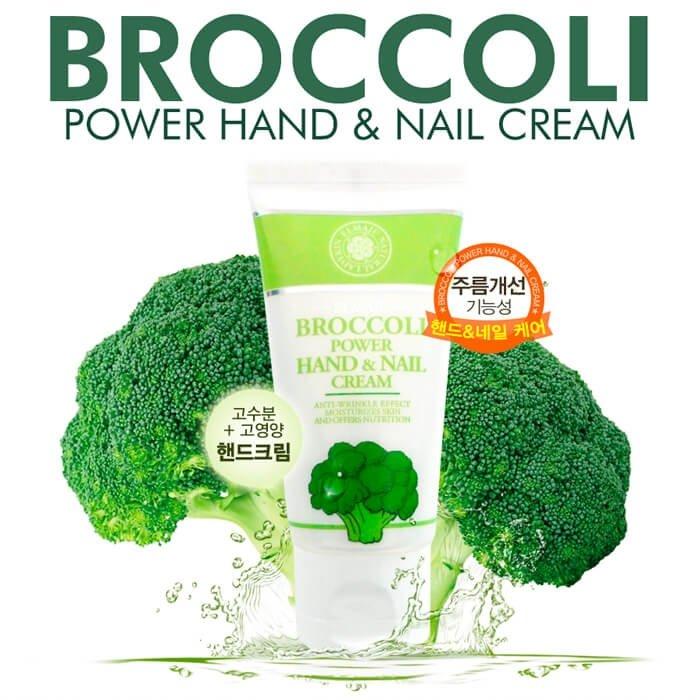 Крем для рук и ногтей Ladykin Elmaju Broccoli Power Hand & Nail Cream