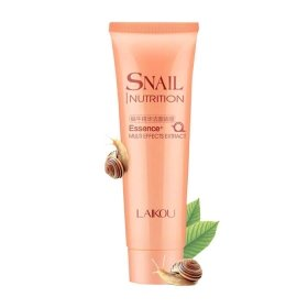 Пенка для умывания Laikou Snail Nutrition Essence+ Cleansing Foam