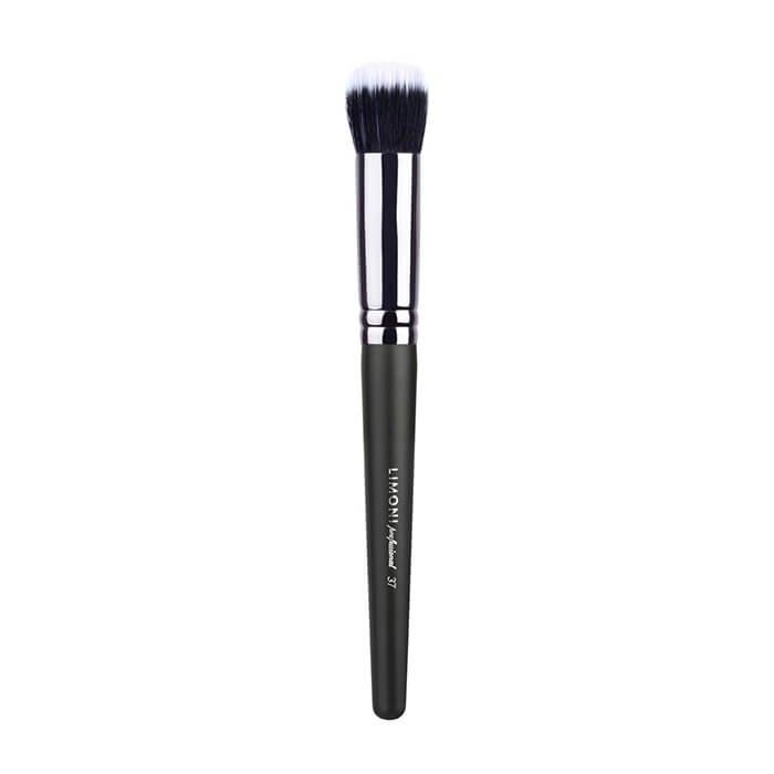 Кисть для макияжа Limoni Professional №37 с двойным ворсом (нейлон/коза)