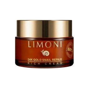 Крем для лица Limoni 24 K Gold Snail Repair Rich Cream