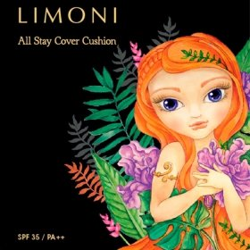 Кушон для лица Limoni All Stay Cover Cushion - Jungle Princess