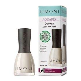 Основа и покрытие для ногтей Limoni Aquafix