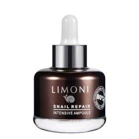Сыворотка для лица Limoni Snail Repair Intensive Ampoule