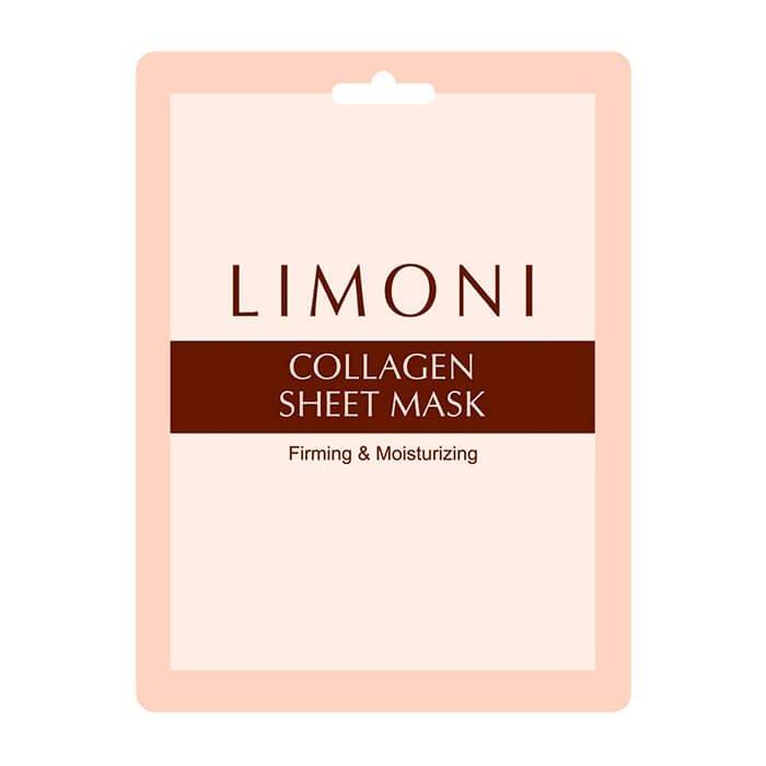 Тканевая маска Limoni Collagen Sheet Mask