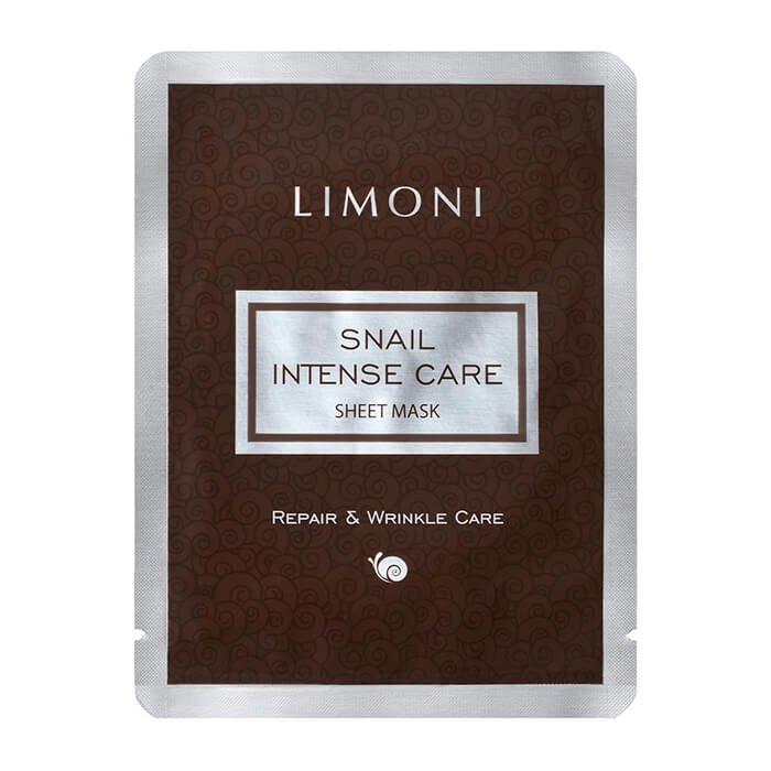 Тканевая маска Limoni Snail Intense Care Sheet Mask