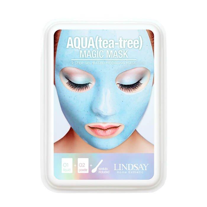 Альгинатная маска Lindsay Aqua (Tea Tree) Magic Mask