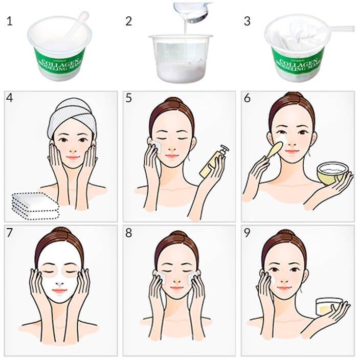 Альгинатная маска Lindsay Cool (Tea Tree) Modeling Mask Cup Pack