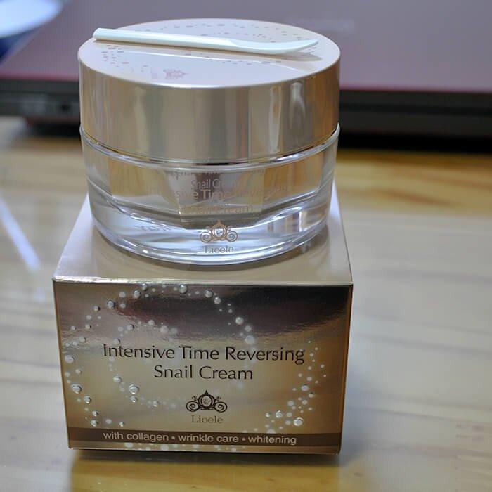 Крем для лица Lioele Intensive Time Reversing Snail Cream