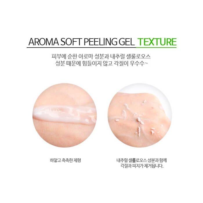 Пилинг-гель для лица Lioele Aroma Soft Peeling Gel
