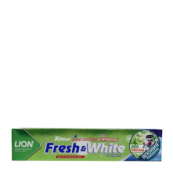 Зубная паста Lion Thailand Fresh & White Toothpaste - Fresh Cool Mint