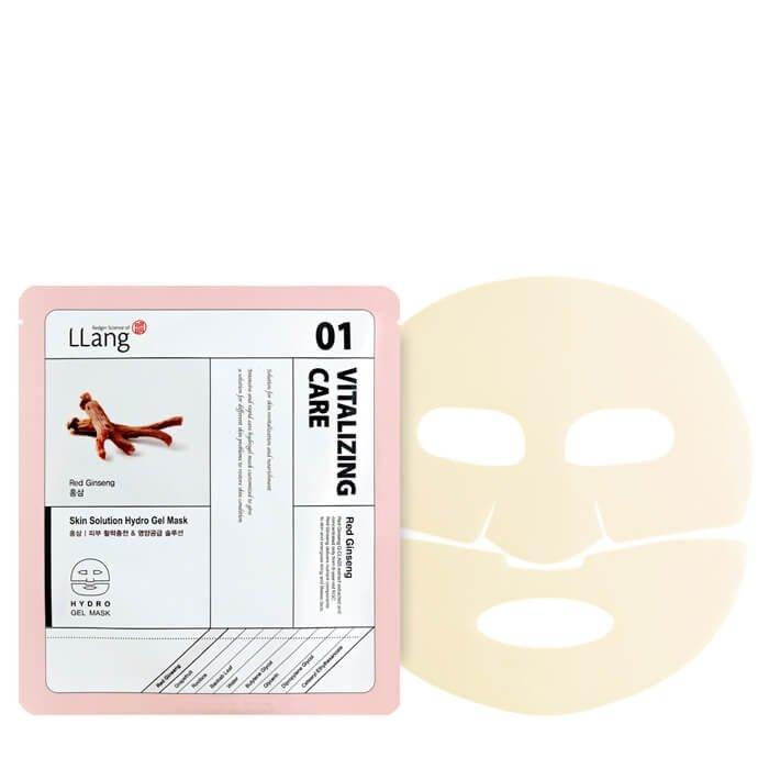 Гидрогелевая маска Llang Skin Solution Hydro Gel Mask - Red Ginseng