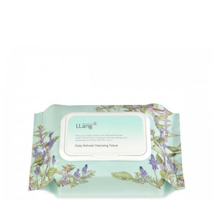Очищающие салфетки Llang Daily Refresh Cleansing Tissue