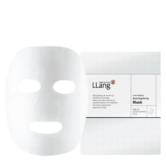 Тканевая маска Llang Ginseno: Myeong Moist Brightening Mask