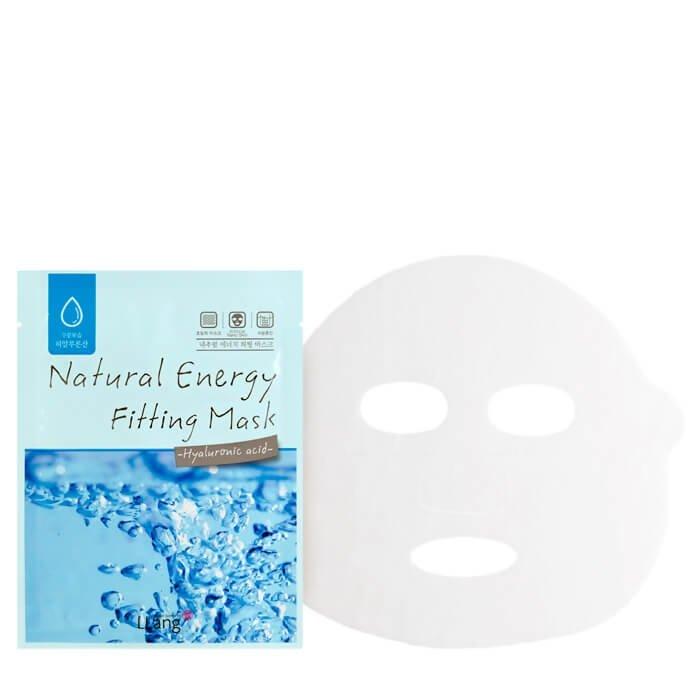 Тканевая маска Llang Natural Energy Fitting Mask - Hyaluronic Acid