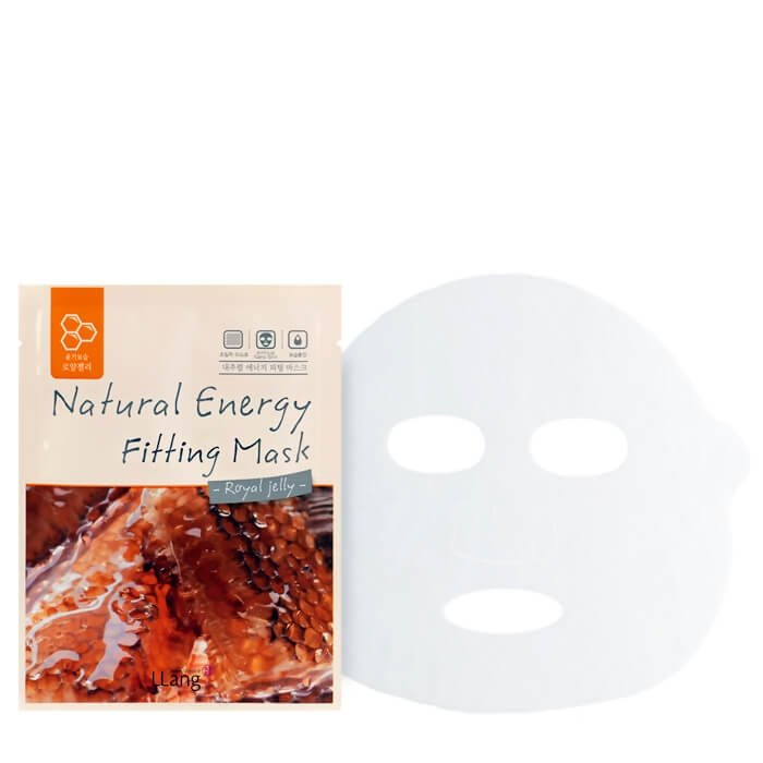 Тканевая маска Llang Natural Energy Fitting Mask - Royal Jelly