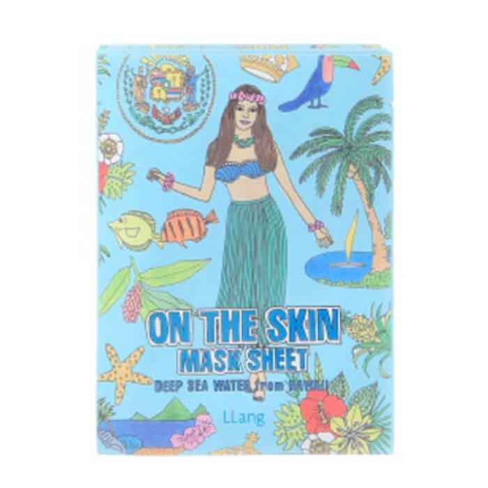 Тканевая маска Llang On The Skin Mask Sheet - Deep Sea Water From Hawaii