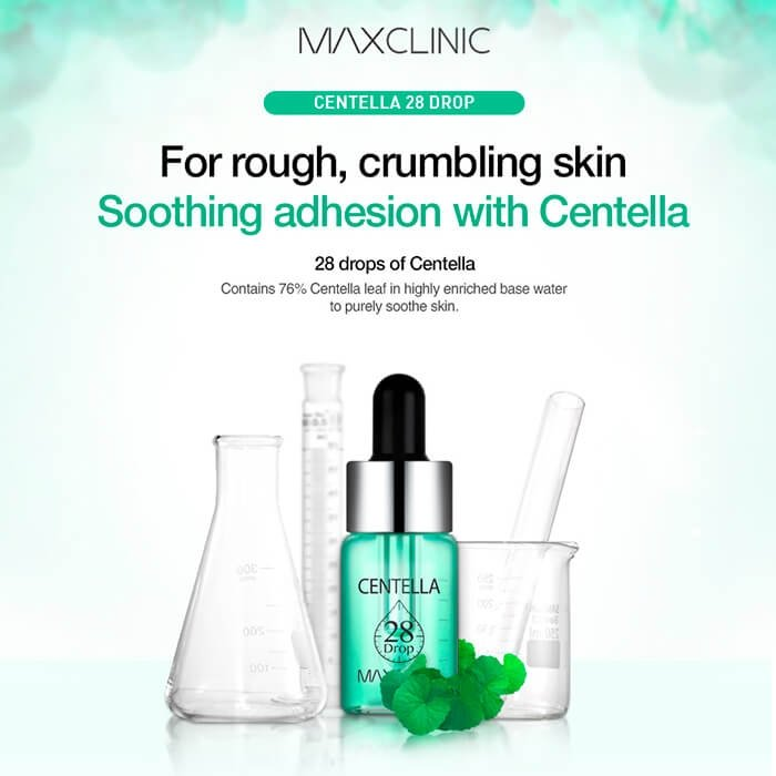 Масляная эссенция Maxclinic Centella Oil 28 Drop