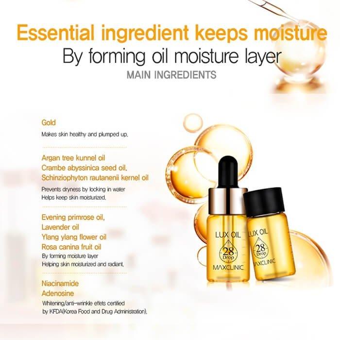 Масляная эссенция Maxclinic Lux Oil 28 Drop