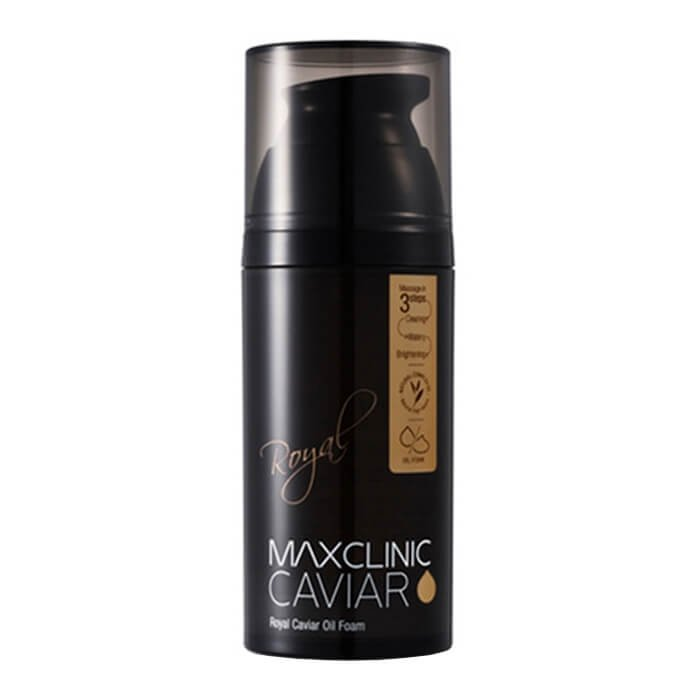 Очищающая пенка Maxclinic Royal Caviar Oil Foam