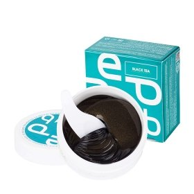 Патчи для век Med:B Hydrogel Eye Patches De-Tox Black Tea