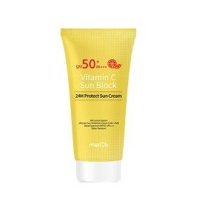 Солнцезащитный крем для лица Med:B Vitamin C Sun Block