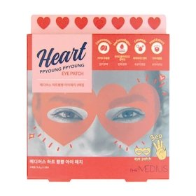 Патчи для глаз Medius Heart Ppyoung Ppyoung Eye Patch (10 шт.)