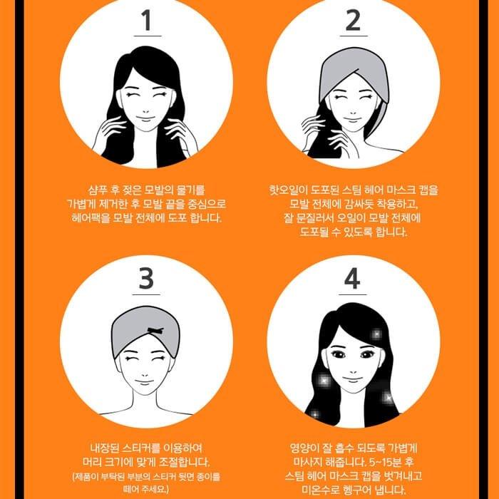 Маска для волос Mise-en-scène Perfect Serum Hair Mask Pack
