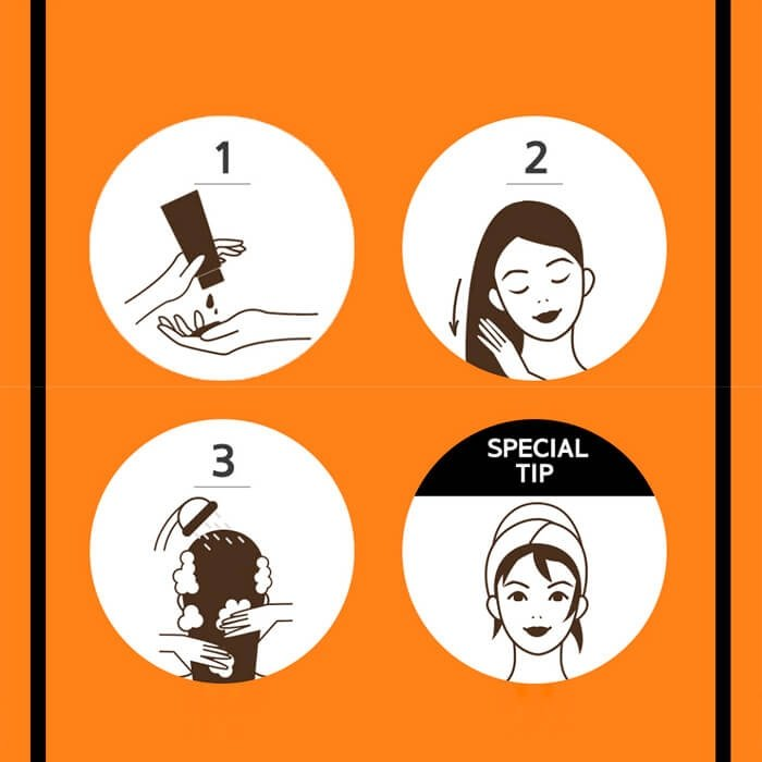 Маска для волос Mise-en-scène Perfect Serum Treatment Pack (180 мл)
