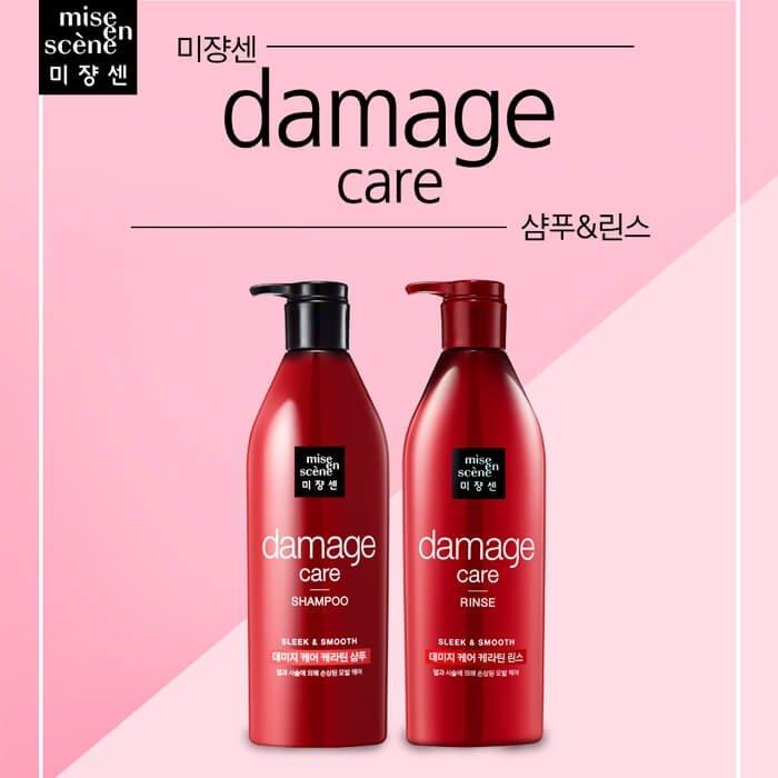 Шампунь для волос Mise-en-scène Damage Care Shampoo