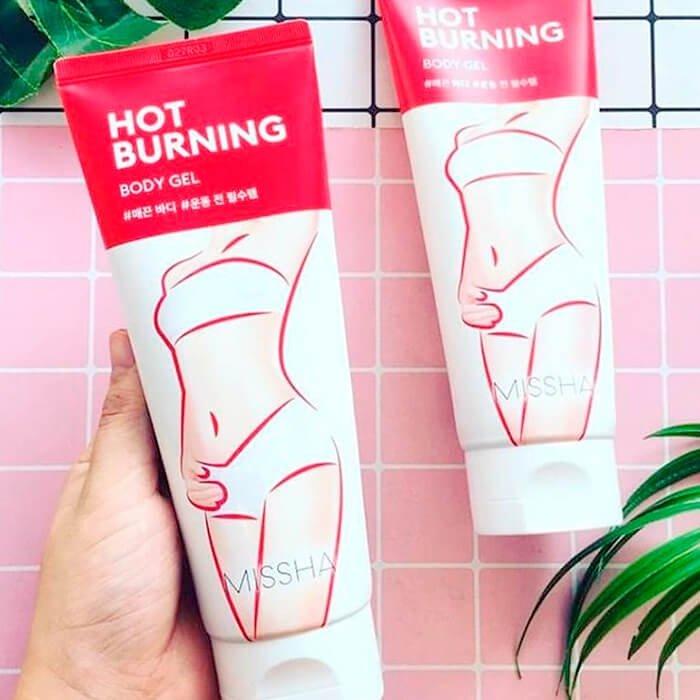 Антицеллюлитный гель Missha Hot Burning Perfect Body Gel
