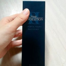 Эссенция для лица Missha Time Revolution Immortal Youth Blue Essence
