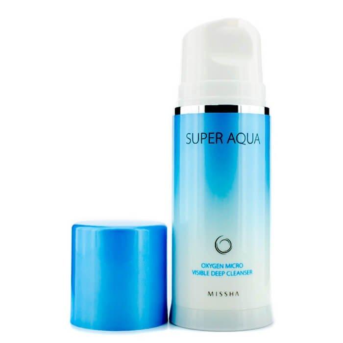 Кислородная пенка Missha Super Aqua Oxygen Micro Visible Deep Cleanser