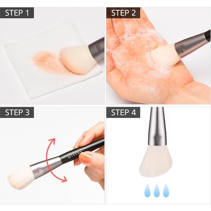 Кисть для бровей Missha Artistool Brow Brush #501