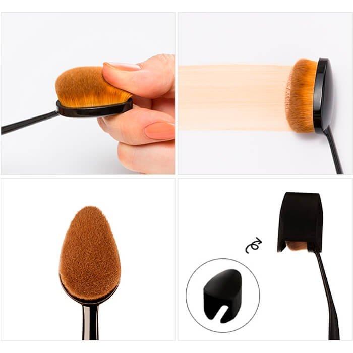 Кисть для тональной основы Missha Artistool Foundation Brush #101