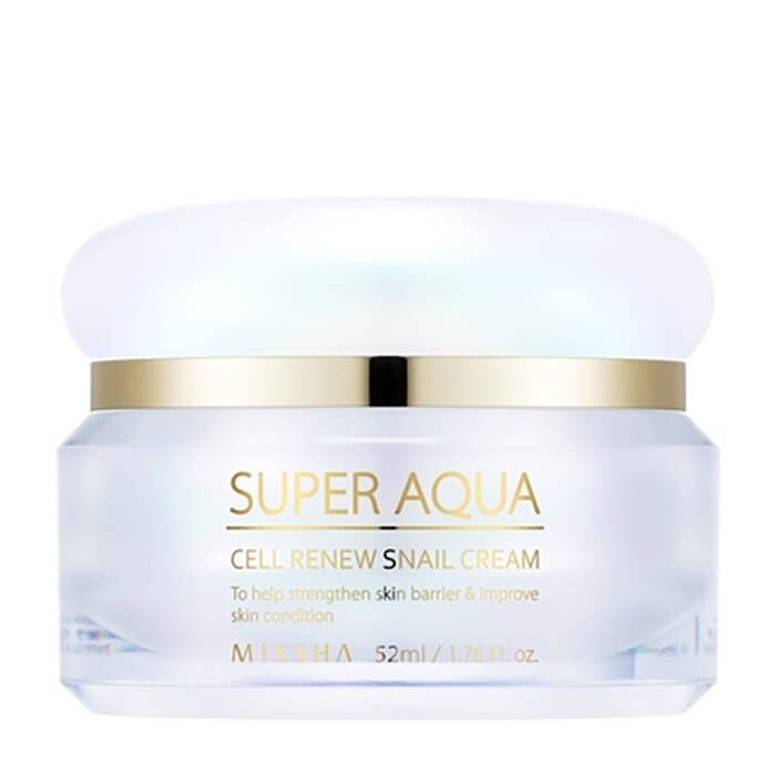 Крем для лица Missha Super Aqua Cell Renew Snail Cream