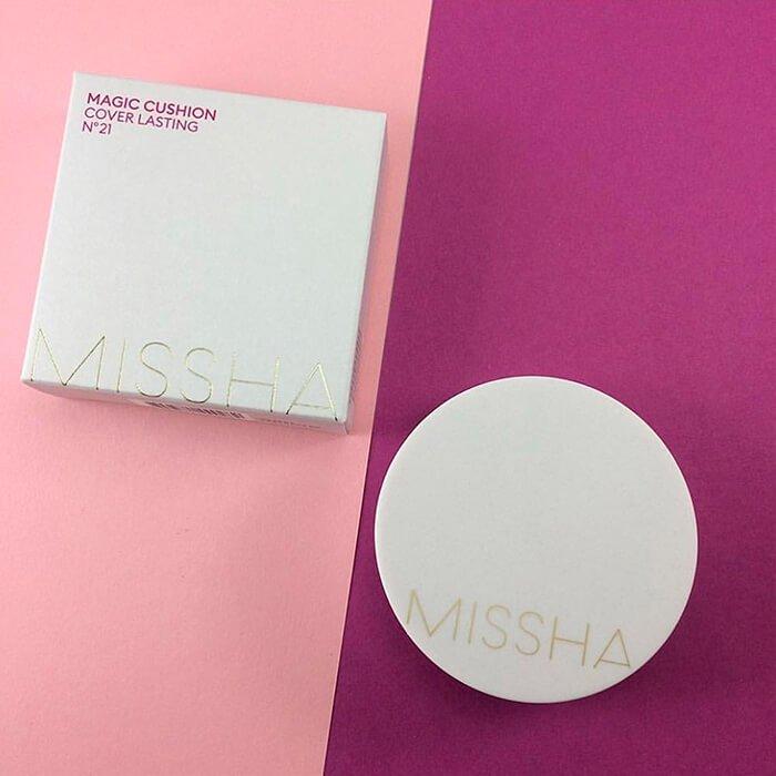 Кушон Missha Magic Cushion - Cover Lasting
