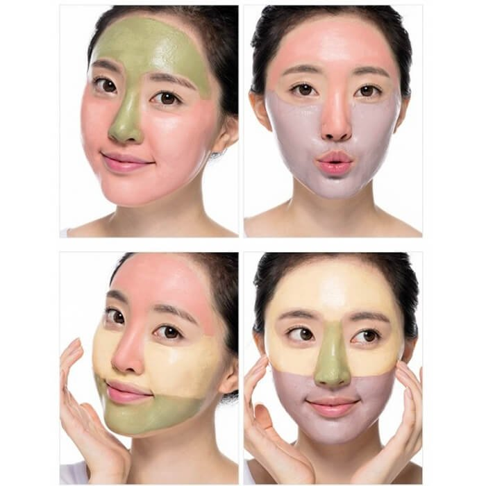 Маска для лица Missha Natural Color Clay Mask - Firming