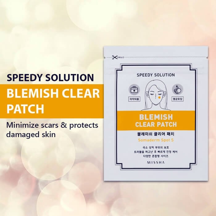 Патчи от воспалений Missha Speedy Solution Blemish Clear Patch