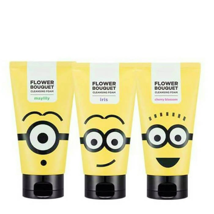 Пенка для умывания Missha Flower Bouquet Cleansing Foam (Minions edition)
