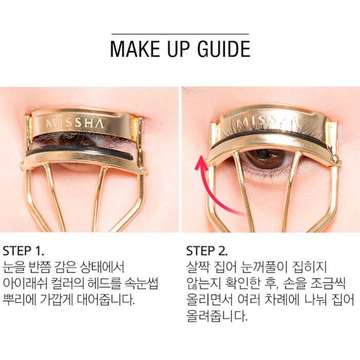 Щипцы для подкручивания ресниц Missha Professional Eyelash Curler