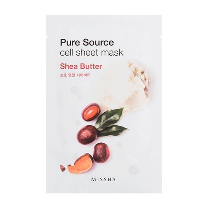 Тканевая маска Missha Pure Source Cell Sheet Mask - Shea Butter