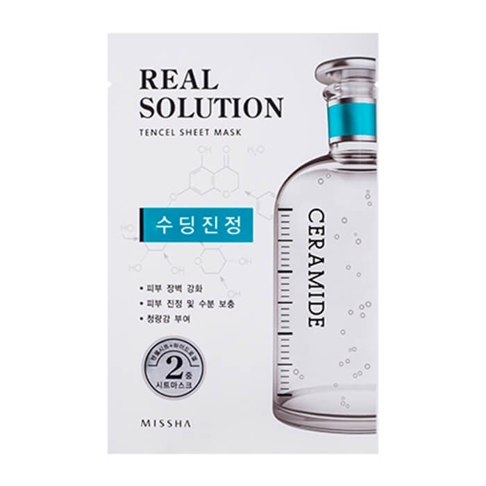 Тканевая маска Missha Real Solution Tencel Essential Sheet Mask - Ceramide